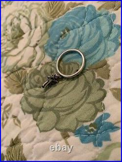 James Avery Ring With Retired Praying Angel Charm Size 8