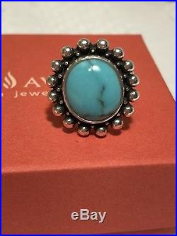 James Avery Santorini Turquoise Ring Size 6 1/2
