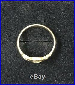 James Avery Spanish Swirl 14k Gold Ring Size 6.25