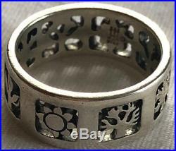 James Avery Sterling Silver 4 Seasons Ring