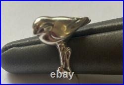 James Avery Sterling Silver Bird Ring Retired Size 5.5
