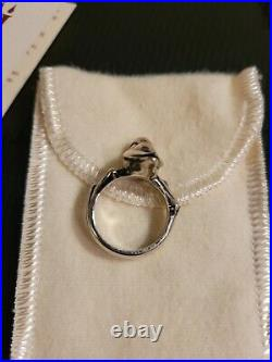James Avery Sterling Silver Bird on a Branch Ring Size 6 Retired