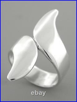 James Avery Sterling Silver Bypass Ring Size 7.5