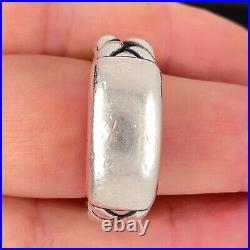 James Avery Sterling Silver Cable Ring Size 10