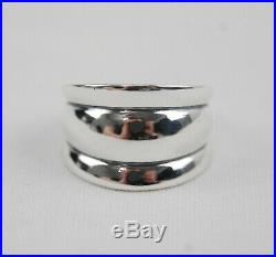 James Avery Sterling Silver TRIPLE DOME RING Size 10 Retired