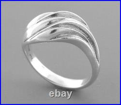 James Avery Sterling Silver Wave Ring Size 9
