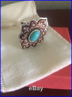 James Avery Tangier Copper And Silver Ring