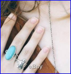 James Avery Turquoise Oval Ring