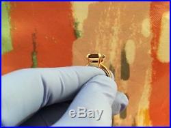 James Avery Womens Size 5 Bella Emerald Cut Garnet Gold Ring Retired