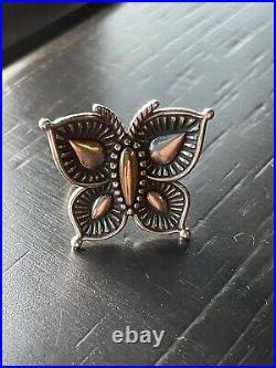 James avery beaded mariposa ring Size 9