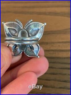 James avery beaded mariposa ring size 7.5
