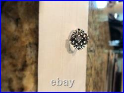 James avery spanish lace ring size 7 with lab created white sapphire was $275