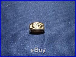 Men's James Avery Ring 14K Gold 12.4 Grams sz 8.5