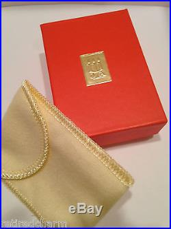RETIRED JAMES AVERY PINKY RING HEARTS 14K GOLD & SILVER BAND SZ 3 with JA Box