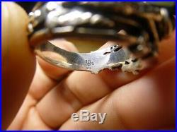 RETIRED James Avery MARTIN LUTHER Crucifix Garnet Ring INRI Sz 11