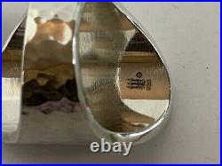 RETIRED James Avery Sterling Silver OVAL HAMMERED Ring Sz 9 NEW! Made USA
