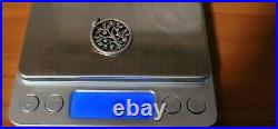 RETIRED James Avery Sterling Silver Round Tree Of Life Charm Uncut Ring FREESHIP
