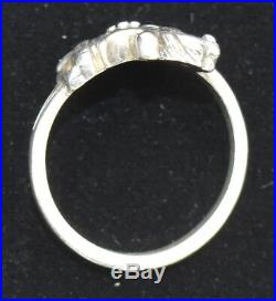 Rare James Avery Carousel Horse Ring 925 Sterling Silver Size 6