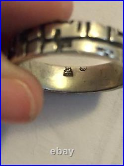 Rare James Avery Sterling Silver Ring Size 8