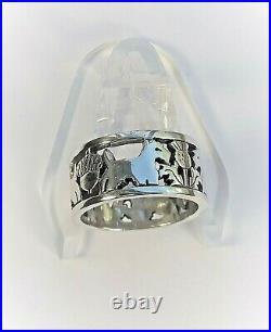 Rare Retired James Avery Sterling 925 Scottish Terrier Scottie dog Ring Size 6.5