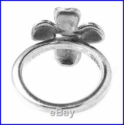 Rare Retired James Avery Sterling Silver Dogwood Ring, Size 5.5