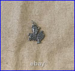 Rare Retired James Avery Sterling Silver Prickly Pear Cactus Charm Uncut Ring