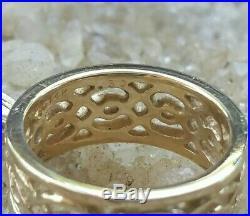 Retired James Avery 14K Diamond Wedding Band Ring Size 5.5