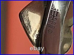 Retired James Avery 14k Gold & Sterling Silver Heart Ring