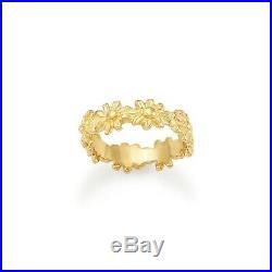Retired James Avery 14k Margarita Daisy Ring Size 6.5