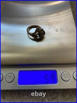 Retired James Avery 14k gold rose ring