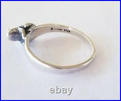 Retired James Avery 3-D Frog Ring So CUTE! Size 7.5 Rare Piece