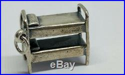 Retired James Avery Bunk Bed Camp Charm Sterling Silver Uncut Ring FREE SHIP