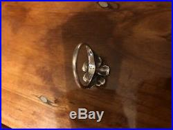 Retired James Avery Flower Ring 18kt Gold Size 8.5