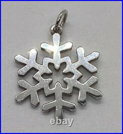 Retired James Avery Sterling Silver Pendant Or Charm Uncut J Ring No Tarnish