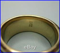 Retired Very Rare James Avery 14k Yellow Gold Unity Wedding Band Ring Size 6 USA