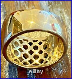 Stunning James Avery Retired 14k Gold Spanish Tracery Ring, Sz 7