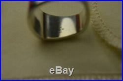 University Of Texas James Avery Sterling Silver Hook Em Horns Ring Size 7